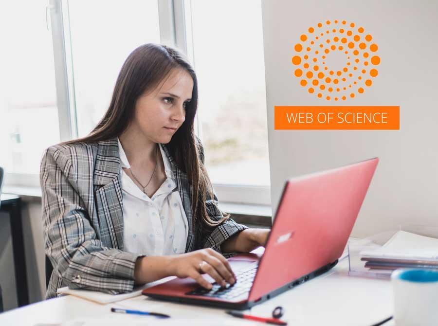 Публікація статей в БД Web of Science